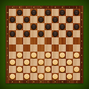 Free online draughts. Play with a friend