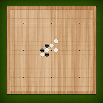 Free online gomoku. Play with a friend